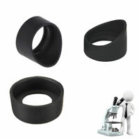2PCS Eye Guards Binocular Microscope Eyepiece Eye Piece 33-36mm Rubber Eye cups