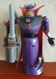 "Disney Store Emperor Zurg Talking Light Up Large 15"" Action Figure Toy Story"