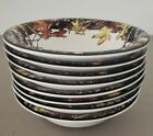 """Bass Pro Shop MOSSY OAK  Set of 8 -  8.5""""  Dinner BOWLS Camouflage Hunting NEW"""