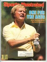 Sports Illustrated Magazine April 21, 1986 One for the Ages Jack Nicklaus