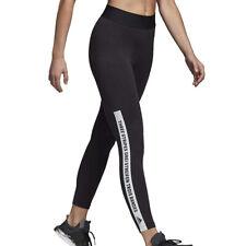 Adidas Deporte Id Mujer Leggings Negro Blanco Correr Ejercicio Gimnasio Pantalón