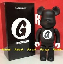 Medicom 2015 Be@rbrick Resonate Goodenough 400% Good Enough Black ver. Bearbrick