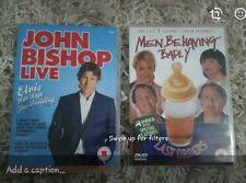 DVD BUNDLE JOHN BISHOP & MEN BEHAVING BADLY