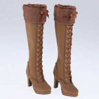 1//3SD16//GR//DD BJD Shoes High Heeled Boots Leather Multi-colors Charming Legs