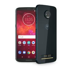 moto z3 play by motorola 64GB GSM/CDMA unlocked smartphone deep indigo