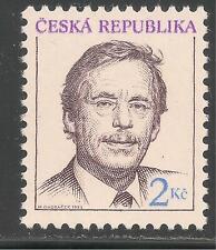 Czechoslovakia #2879 (A1000) VF MNH - 1993 2k President Vaclav Havel