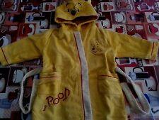 Lotto 38 accappatoio 12-18 Mesi neonato DISNEY WINNIE THE POOH ACCAPPATOIO BABY