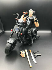Marvel Legends Series THE PUNISHER with Motorcycle Frank Castle Action Figure
