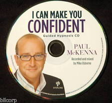 """""""I CAN MAKE YOU CONFIDENT"""" GUIDED HYPNOSIS CD MCKENNA"""