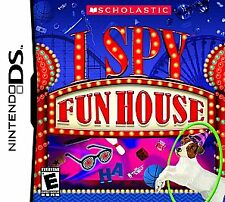 "Nintendo DS, I Spy: Fun House ""Multi-level Puzzel Games"" Brand New"""