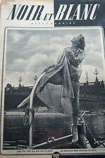 PIN UP en COUVERTURE de NOIR et BLANC No 178 de 1948 SPORT COURSES de VOITURES