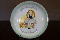 Holly Hobbie Collector's Edition Plate - Made in U.S.A. 1972 *Just a little ...*