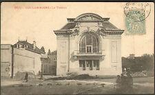 77 COULOMMIERS CARTE POSTALE LE THEATRE 1904