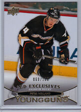 PETER HOLLAND RC 069/100 SP 2011-12 UPPER DECK YOUNG GUNS EXCLUSIVES MAPLE LEAFS