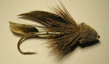 Muddler Minnow  Natural  #8  trout steelhead