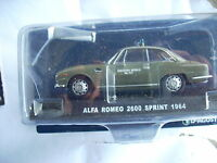 ALFA ROMEO 2600 SPRINT 1964 SQUADRA MOBILE SCALA 143