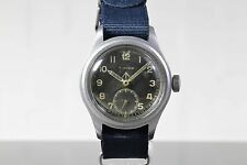 1940's TIMOR Swiss Dirty Dozen WWW MOD WW2 Vintage Military Watch AS Cal. 1203