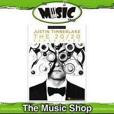 New Justin Timberlake 'The 20/20 Experience' PVG Music Book - Piano Vocal Guitar