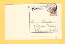 1913 -  Ladung : Drucksache : VEREIN GESELLIGKEIT Sohland Spree
