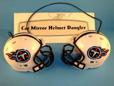TENNESSEE TITANS CAR MIRROR NFL FOOTBALL HELMET DANGLER - HANG FROM ANYTHING!
