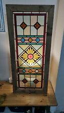 More details for antique stained glass panel - for restoration