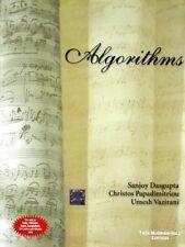 Algorithms by Sanjoy Dasgupta, Umesh Vazirani and Christos H. Papadimitriou...
