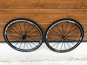 Mavic Ksyrium SSC wheelset wheel set Shimano 9 10 freehub  sl continental ultra