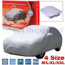 Lona Funda Coche Cubierta Cubre Anti-UV Nieve Polvo Lluvia Protección M/L/XL/XXL