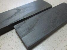 2pcs.lot Bog Oak morta, wood Woodturning/ knife scale block 1000-5800 Years Old