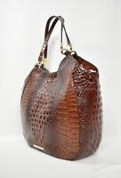 NWT Brahmin Thelma Tote / Shoulder Bag/Tote in Pecan Melbourne Embossed Leather