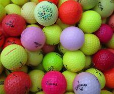 100 bunte Golfbälle AA - A