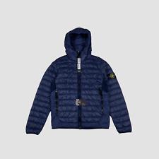 Stone Island Micro Yarn Down Puffer Jacket Blue L