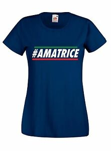 T-shirt Maglietta donna AMA04 Raccolta Fondi Terremoto Amatrice Sisma 24 Agosto