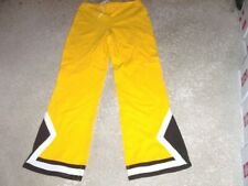 Vintage 1980's BALDWIN WALLACE Team Issued Basketball Warm Up Pants Large Tall