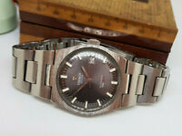 USED VINTAGE TISSOT PR 516 GREY DIAL DATE AUTOMATIC MAN'S WATCH