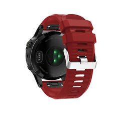 NEW 26mm Sport Easy Fit Silicone Watch Band Strap For Garmin Fenix 5X Plus