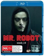 Mr. Robot : Season 2 (Blu-ray, 3-Disc Set) NEW