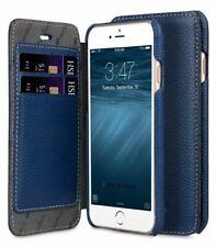 "Melkco Premium Leather Case for Apple iPhone 8 (4.7"") - Face Book BLUE H121"