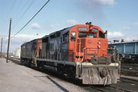 CN CANADIAN NATIONAL Railroad Locomotive 4000 SELKIRK NY Original Photo Slide