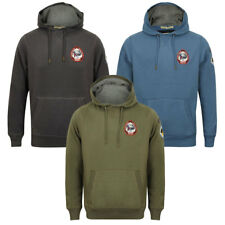 Mens Tokyo Laundry Pawwood Cotton Rich Fleece Lined Pullover Hoodie Size S-XL