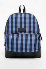 Jack Wills zaino/zaino/blu a scacchi/moda/borsa per la scuola/durevole/uomo/