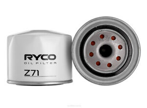 Ryco Oil Filter Z71 fits Renault 16 1.6 TL, 1.6 TL (1152, 1153, 1157), 1.6 TS...