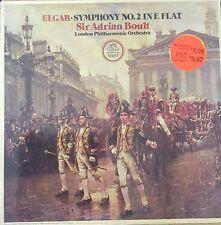 ELGAR-SYMPHONY NO.2 in E FLAT-ADRIAN BOULT-ORIGINAL ANGEL LP VINYL-SEALED-RARE