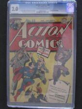 Action Comics #69 CGC 2.0 DC Comics Samachson Greene Meskin Citron Smalle Bailey