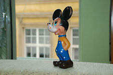 Mickey Mouse Vintage Rubber Toy Made Biserka Zagreb Walt Disney Production