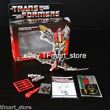 Transformers G1 Dinobots Swoop 100% Complete MIN Reissue by 3rd Party