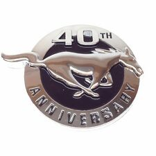 Ford Mustang 40th Anniversary Chrome Emblem