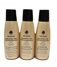3 One 'n Only Argan Oil Hair Color Demi Activating Lotion 6 fl oz Each