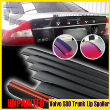 Unapinted 2007-2012 Volvo S80 V8 T6 2nd Sedan 4DR Rear Trunk Lip Spoiler Wing