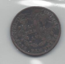 **1841**Hard Times Token, Coin Mart Graded**Filler / Counter Stamped**